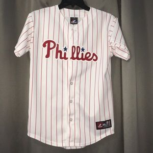 Vintage Victorino Phillies jersey